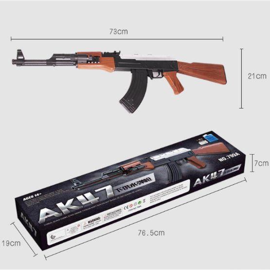 súng bắn đạn thạch AK 47