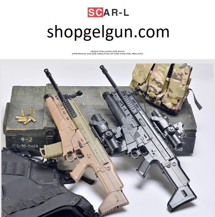 súng đạn thạch Scar L giá rẻ