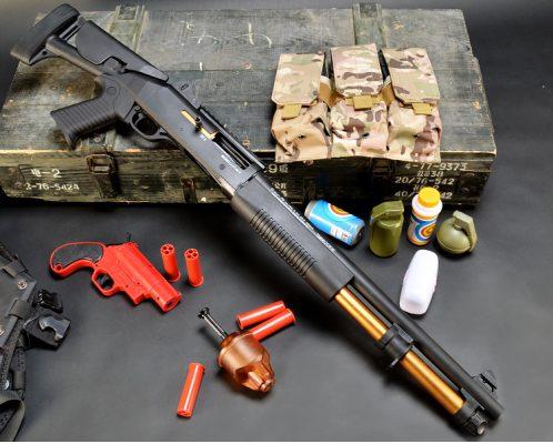 súng đạn thạch XM1014