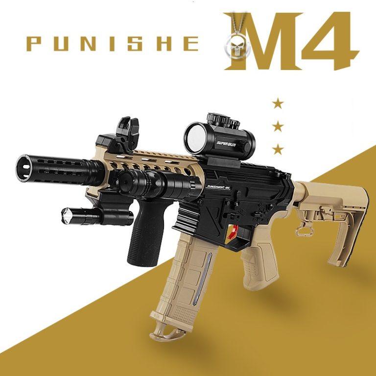 súng đạn thạch m4 punisher