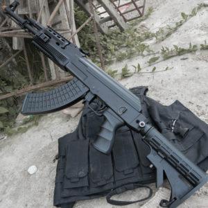 súng bắn đạn thạch ak47 j11