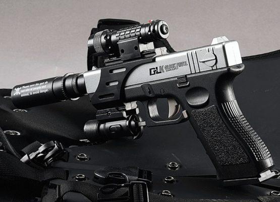 súng bắn đạn thạch glock