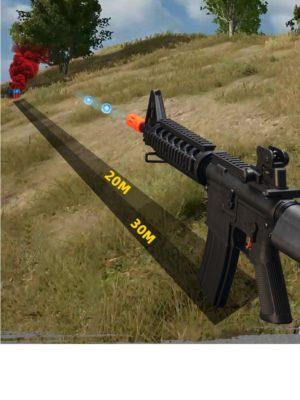 súng bắn đạn thạch m4 cyma