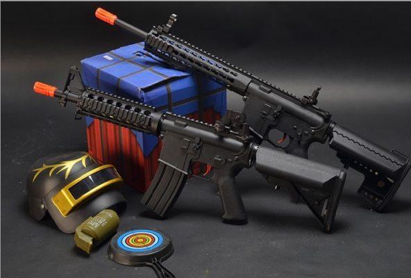 súng bắn hạt nở m4 cyma