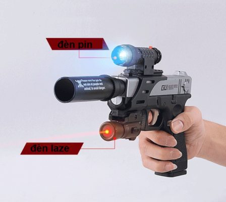 súng lục bắn đạn thạch glock