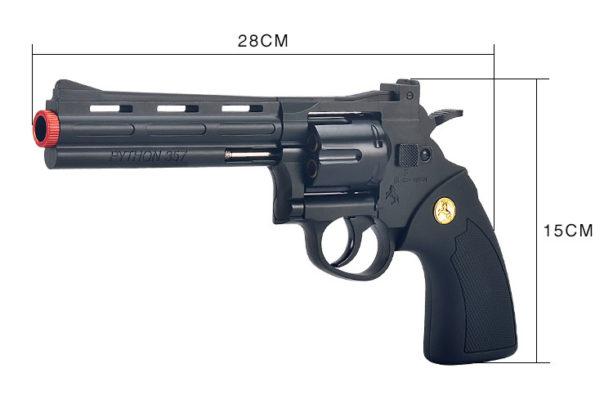 súng lục bắn hạt nở