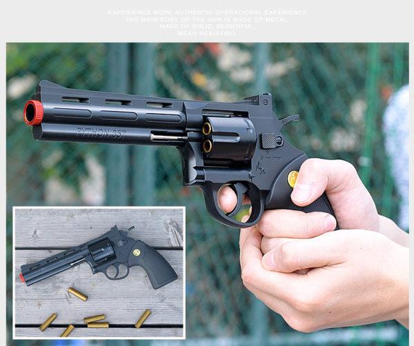 súng lục mô hình đạn thạch