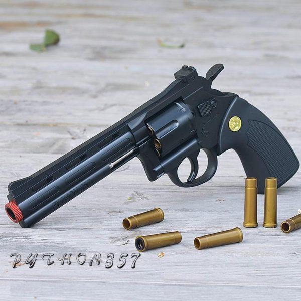 súng lục xoay nòng đạn thạch