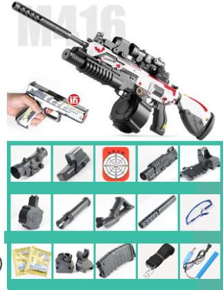 mô hình súng hk416