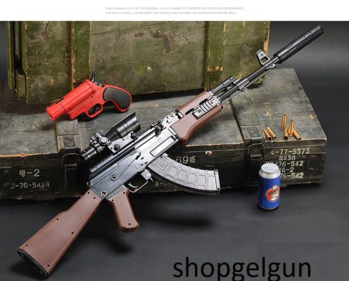 súng bắn đạn thạch giá rẻ - súng mô hình ak 47