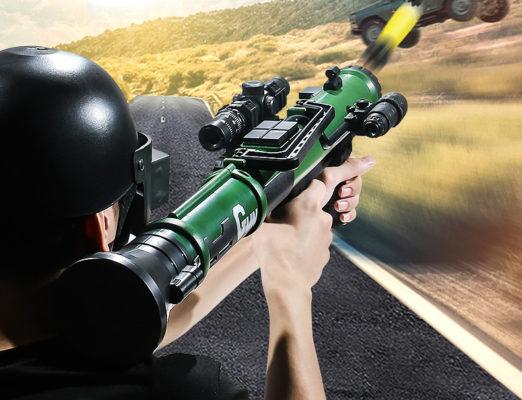 mô hình súng bazoka