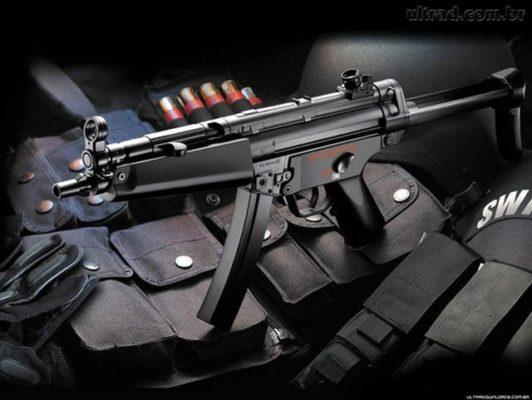 súng mô hình mp5 ldt