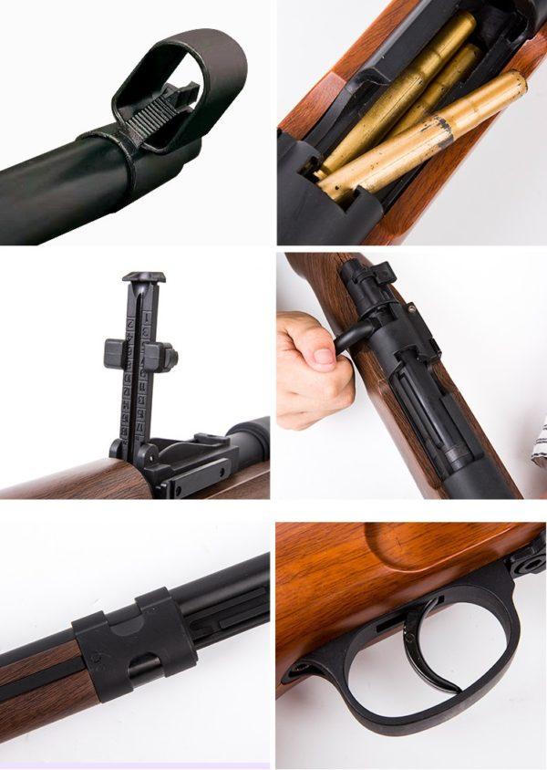 súng bắn đạn thạch k98